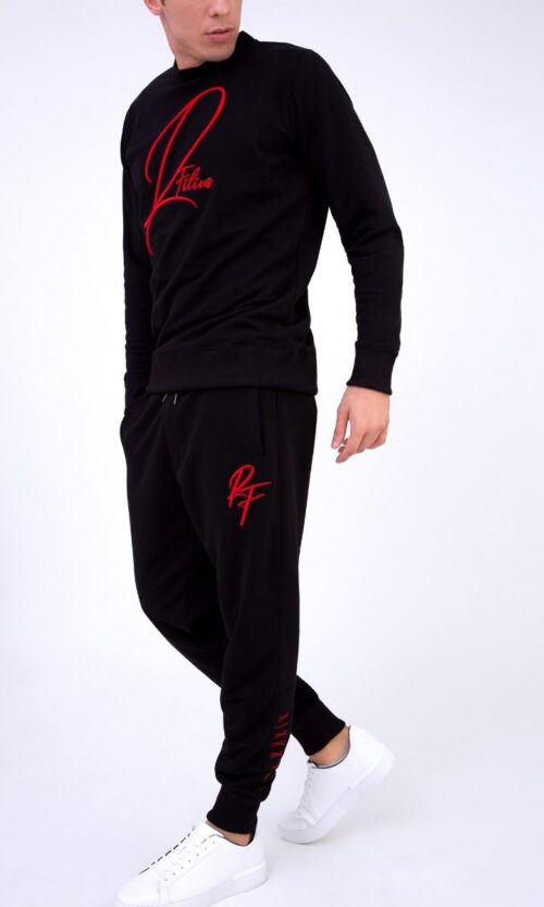 MEN Sweatpants RF Black