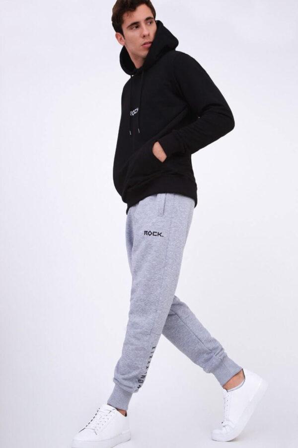 MEN Sweatpants Rock Grey