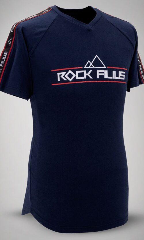 MEN T-Shirt Stripe Blue
