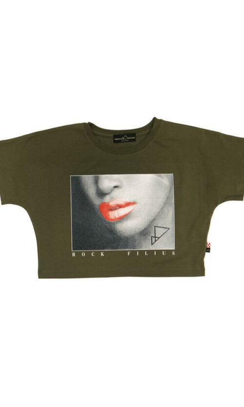 WOMEN RF Lips Green