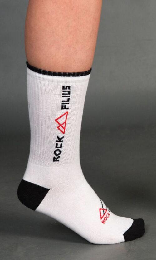RF Socks King White