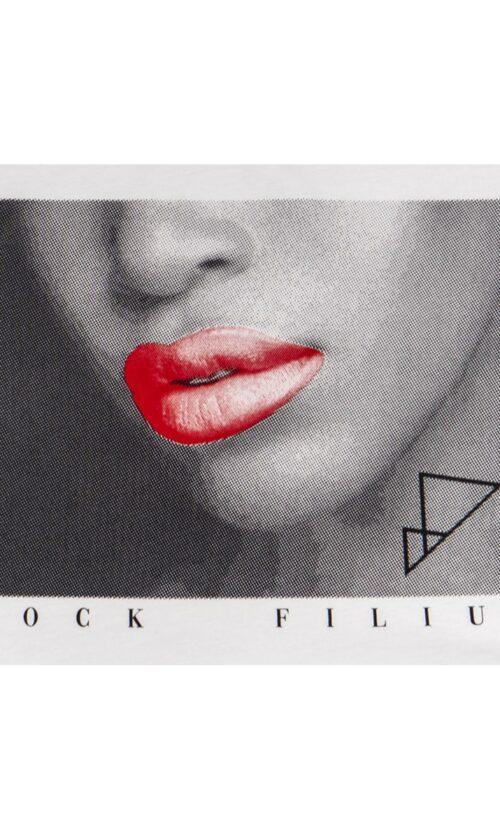 RF Lips White