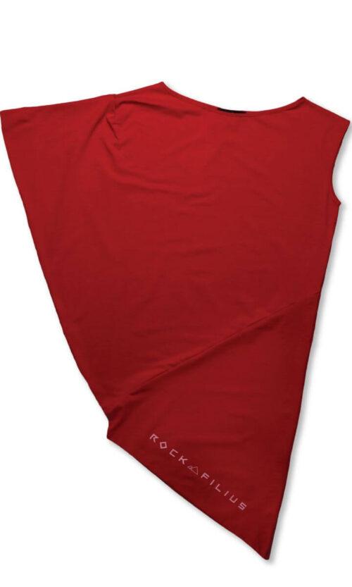 WOMEN Dress Logo Red