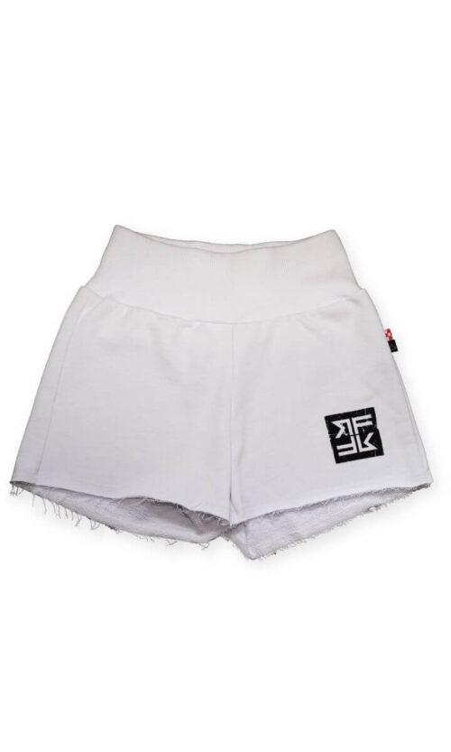 WOMEN Short Pants Classy White