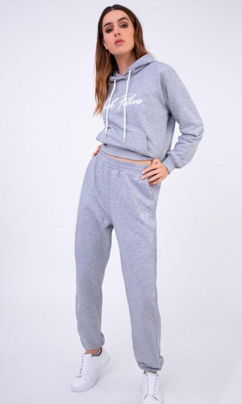 WOMEN Sweatpants Baggy20 Grey