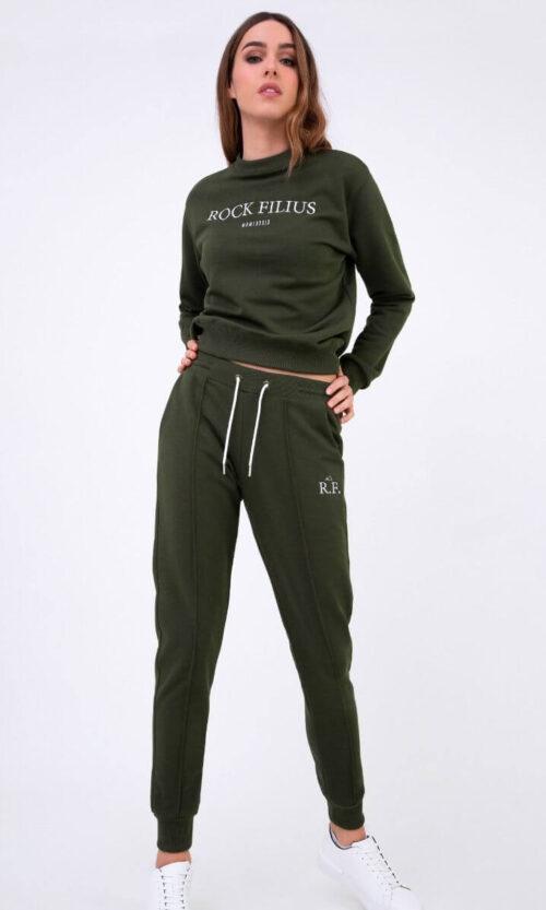 WOMEN Sweatpants Classy Olive