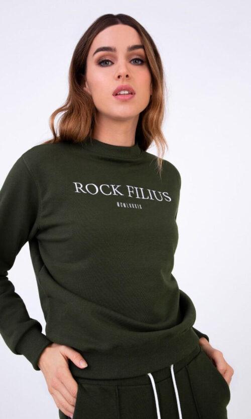 WOMEN Sweatshirt Classy Olive