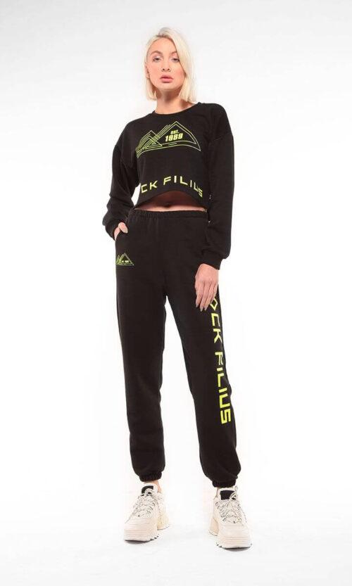 WOMEN Sweatshirt Eightynine Black