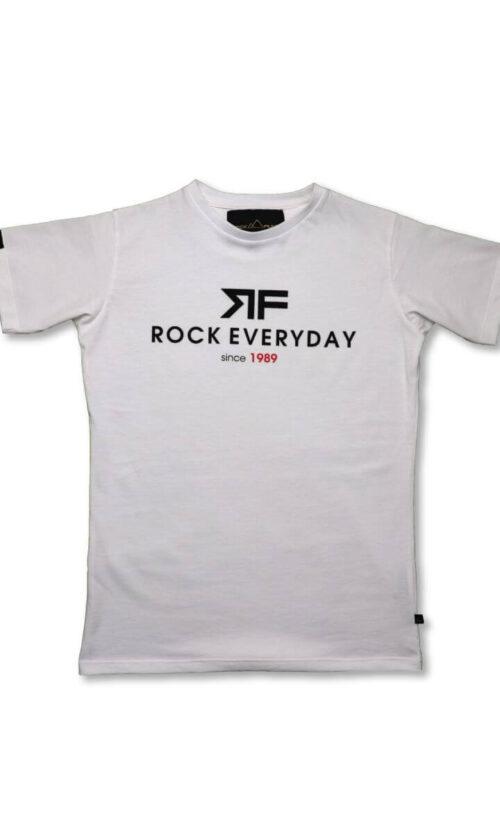 WOMEN T-Shirt Rockeveryday White